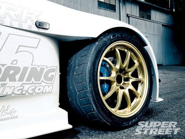 Тюнинг Honda S2000, диски, шины
