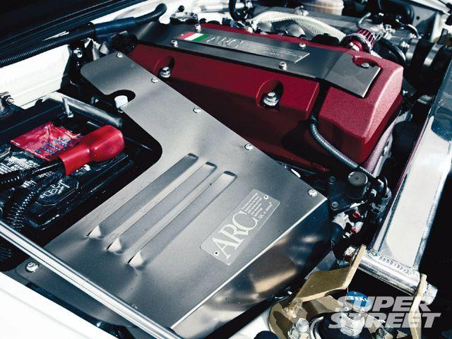 Тюнинг Honda S2000, двигатель