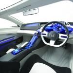 Honda CR-Z Concept фото салона