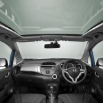 Фото обои Honda Jazz/Fit 2009, панорамная крыша