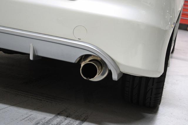 Honda Fit Spoon, выхлопная система