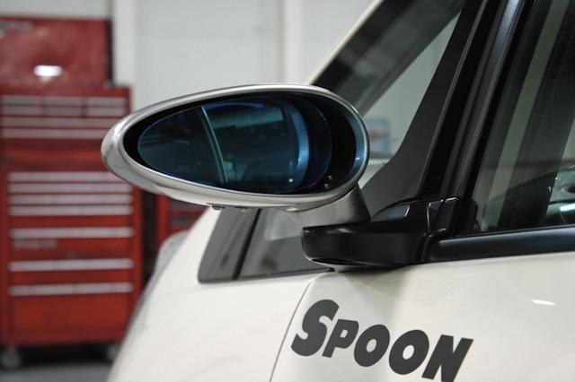 Honda Fit новые зеркала от Spoon