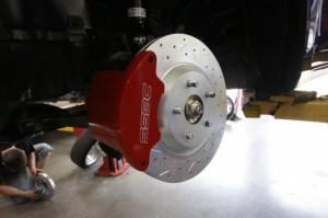 Тюнинг Honda Civic Si 2012 тормозной диск, супорт SSBC