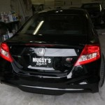 Тюнинг Honda Civic Si вид сздаи