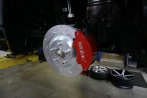 Тюнинг Honda Civic Si тормоза
