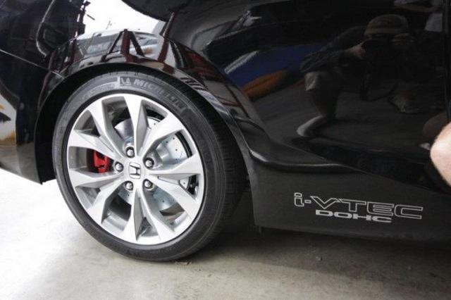 Тюнинг Honda Civic Si подвеска