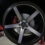 Тюнинг Honda Civic Si 20д диск с новыми тормозами