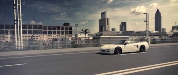 Honda Nsx видео трейлер