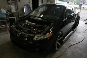 Тюнинг Honda Civic Si 2012 фото