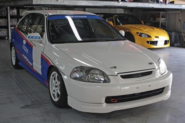 Тюнинг Honda Civic EK9 для 6 часовой гонки.