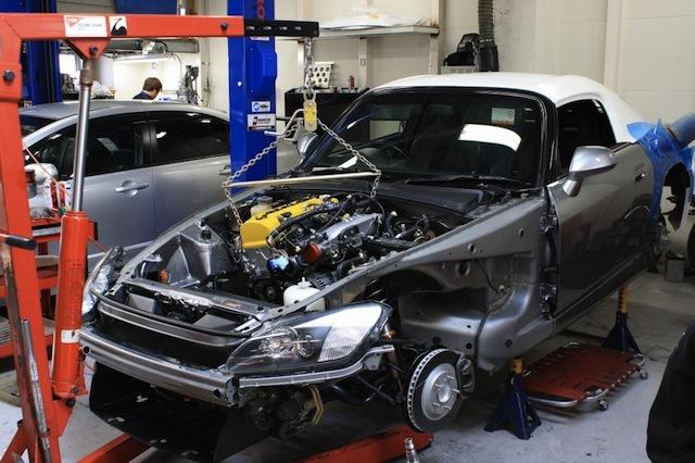 Honda S2000 модернизация
